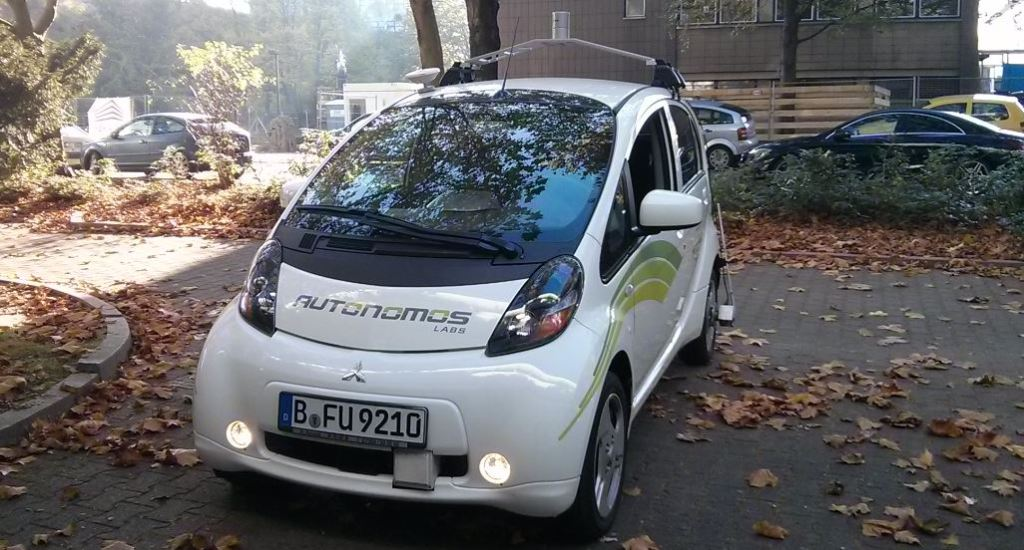 The autonomous electric vehicle e-Instein.